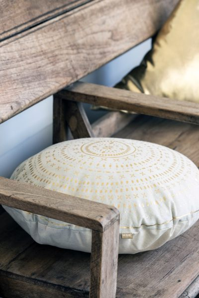 Raine Humble circular cushion
