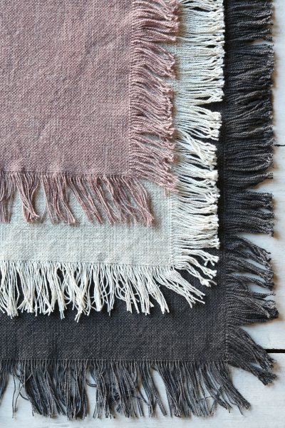 raine humble fringed placemats