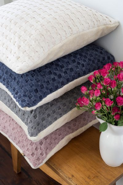 raine humble waffle cushion colours