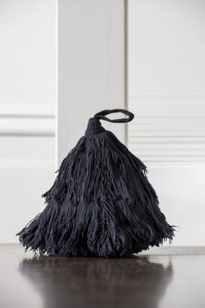 fringed door stop
