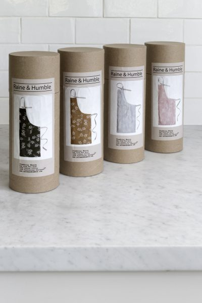 olive trees apron packaging