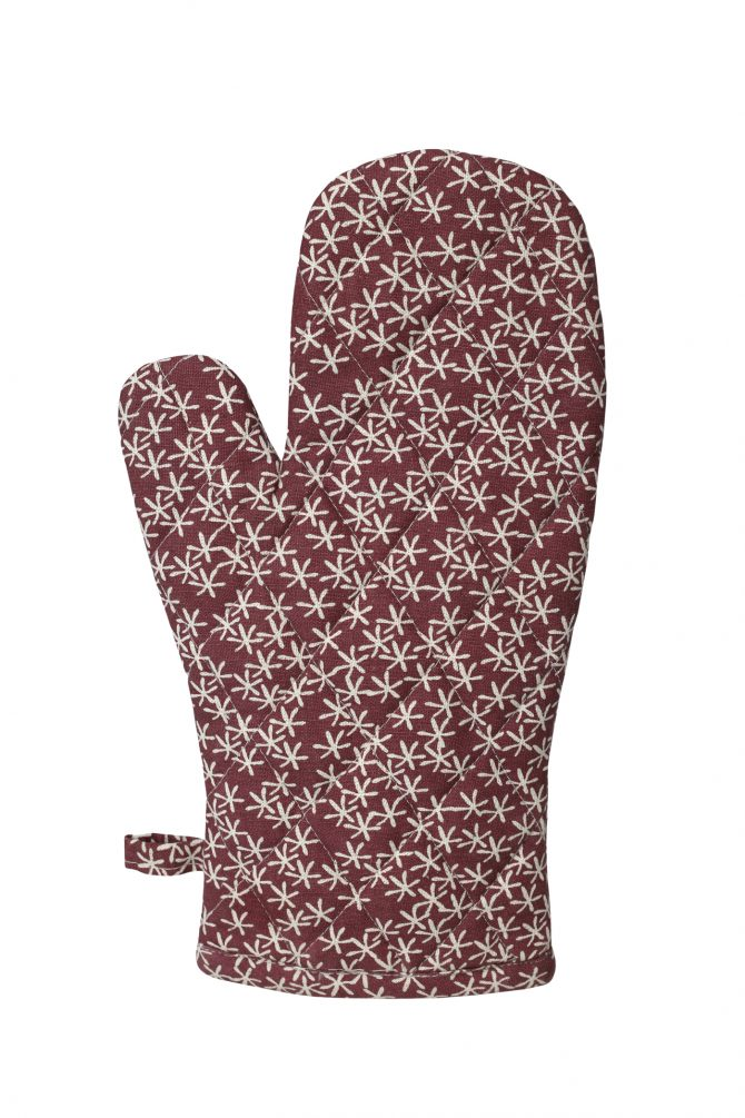 daisy rain purple oven glove